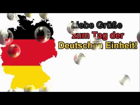 Ich Wünsche Dir Einen Schönen Tag Der Deutschen Einheit Schönen Feiertag Gruß