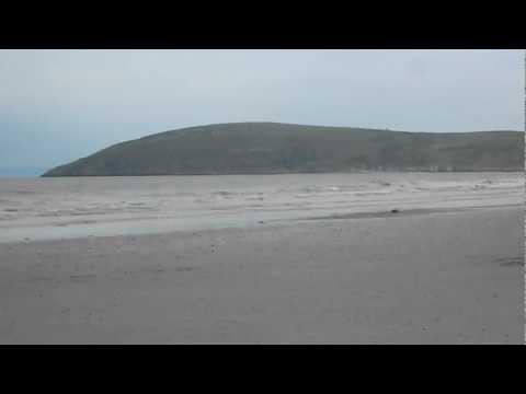 Brean Sands Beach Fishing. (burnham On Sea) England