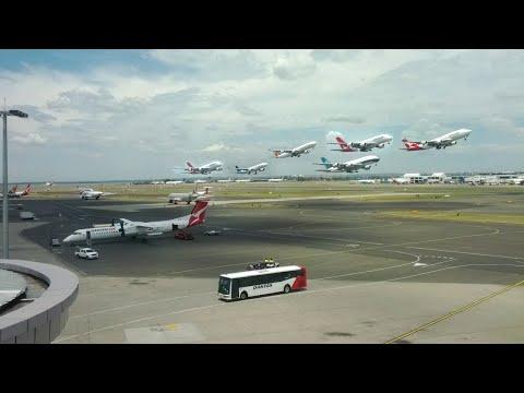 Sydney Airport Time Lapse