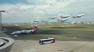 Sydney Airport Time Lapse