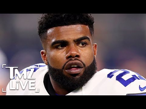Ezekiel Elliott Suspended For Domestic Violence | TMZ Live