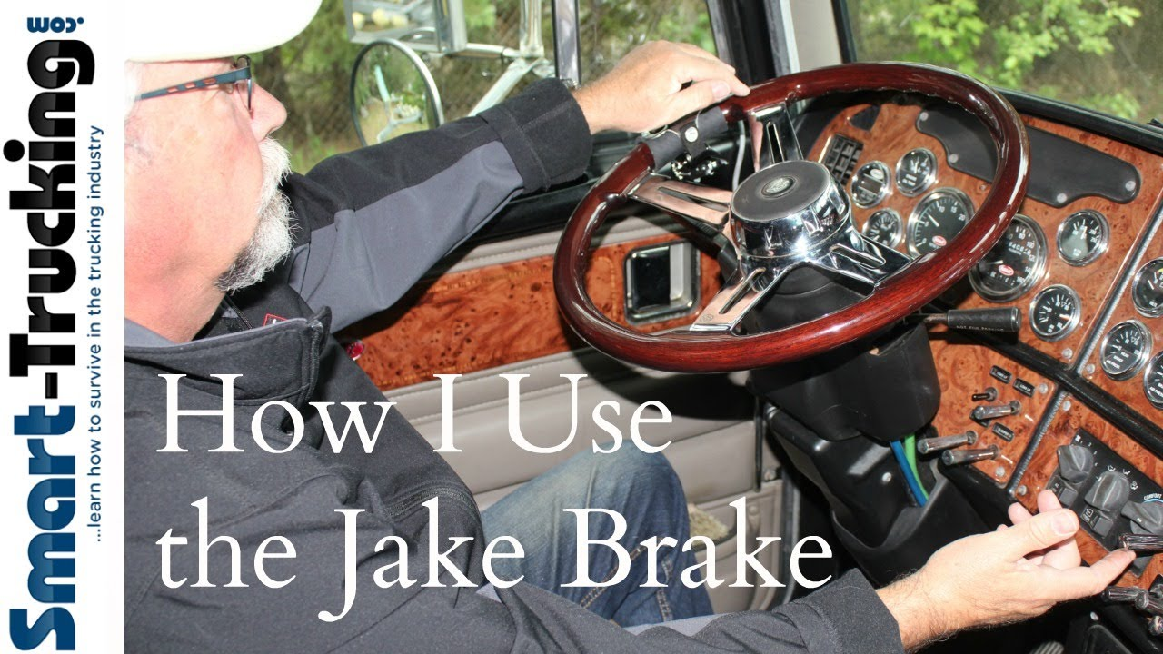 medium resolution of how i use the jake brake
