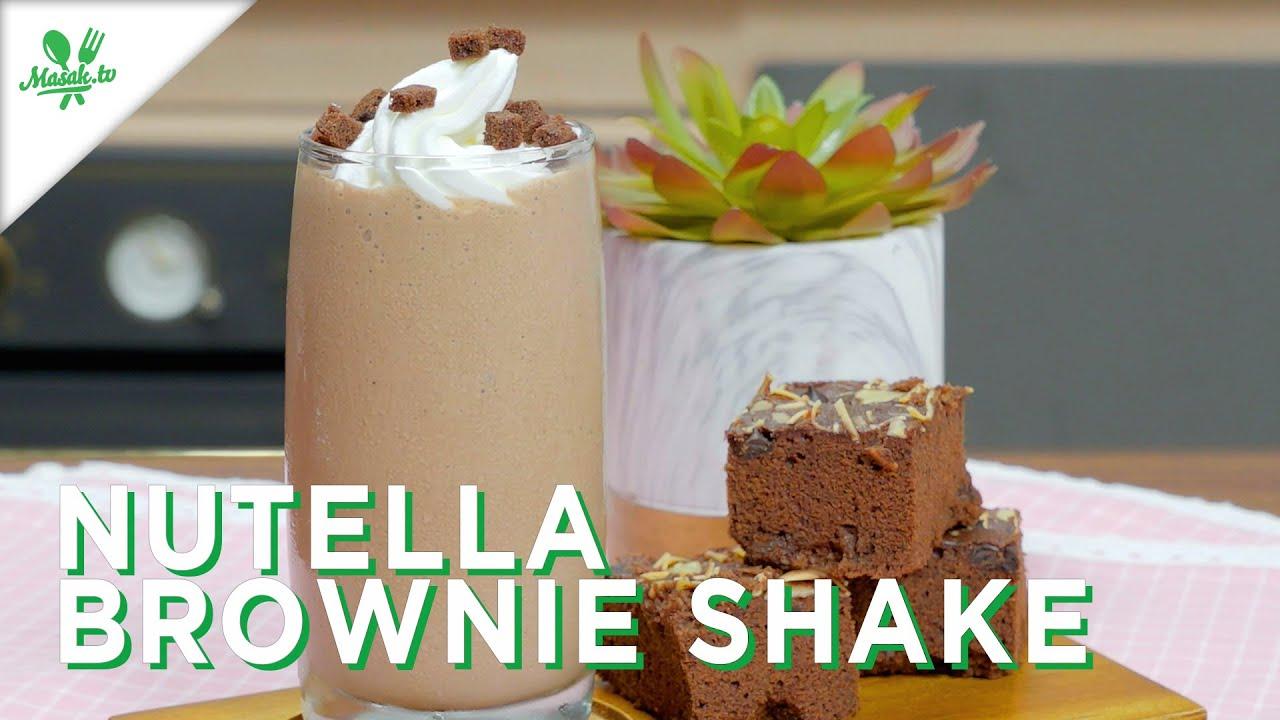 Nutella Brownie Shake
