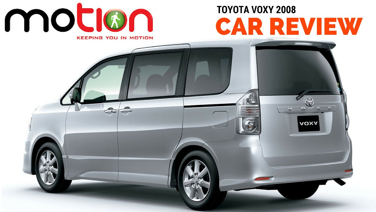 Toyota Voxy Review