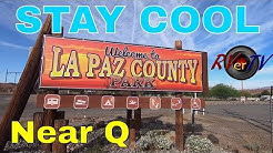 Where To Stay Cool - LaPaz County Park - Colorado River