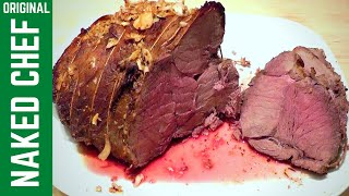 Christmas Roast Beef With Herbs & Spices How To Cook Simple Recipe