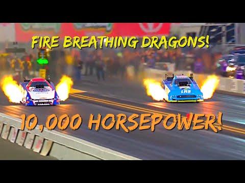 NHRA Extreme Crashes & Explosions!