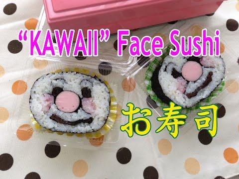 How To Make Sushi - Kawaii Cute Anpanman アンパンマンの顔でお寿司