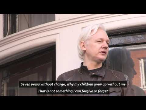 Julian Assange 'I Cannot Forgive, I Cannot Forget'