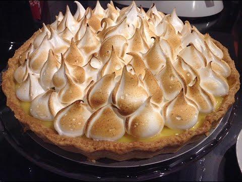 Rețetă de tartă cu cremă de lămâie si bezea - Lemon meringue tart - CristineCuisine