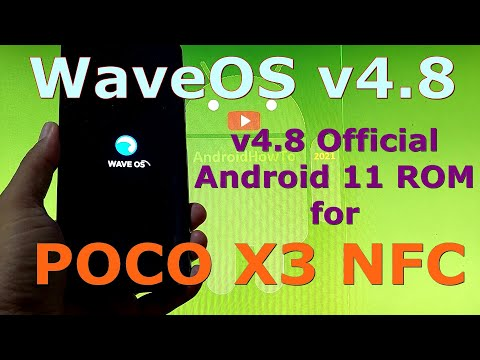 WaveOS v4.8 Official for Poco X3 NFC (Surya) Android 11