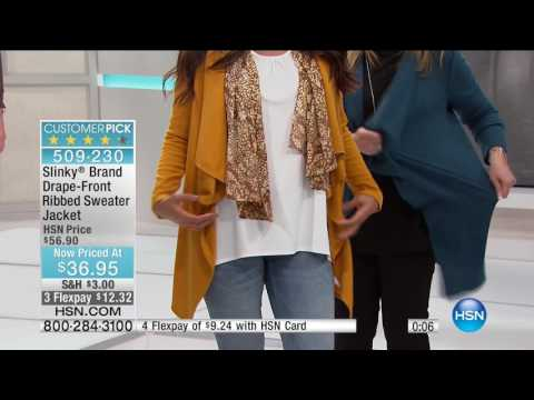 HSN | Moonlight Markdowns featuring Slinky Brand Fashions 01.30.2017 - 04 AM