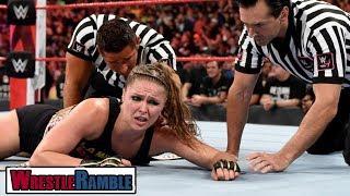 Ronda Rousey ATTACKED By Bella HEEL TURN! WWE Raw, Oct. 8, 2018 Review   WrestleTalk's WrestleRamble