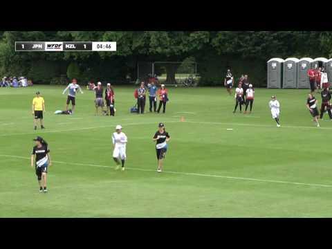 WUGC 2016 - New Zealand vs Japan Women's