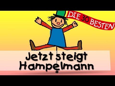 Jetzt steigt Hampelmann - Die besten Spiel-und Bewegungslieder || Kinderlieder