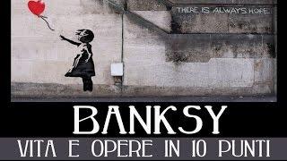Banksy: vita e opere in 10 punti