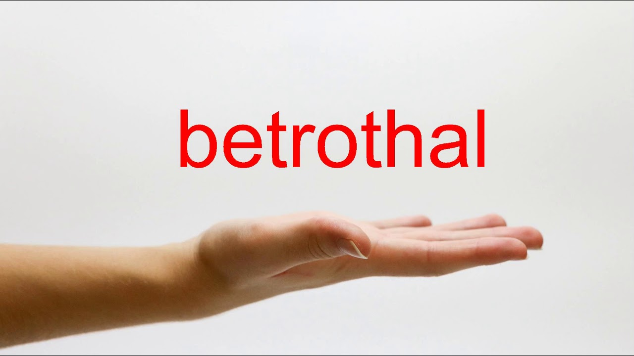 How to Pronounce betrothal - American English - YouTube