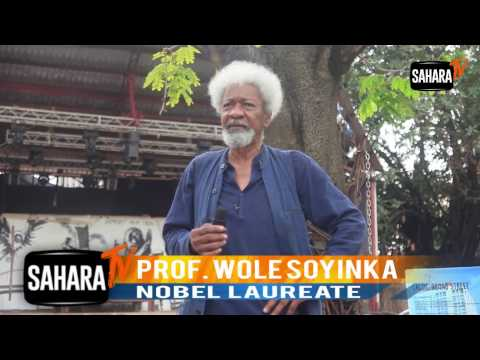 I am Embarrassed To Share The Same National Space With Some Imbeciles And Morons - Soyinka