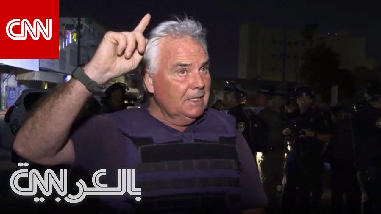 رد فعل مراسل CNN على الهواء لحظة هجوم صاروخي من غزة  - نشر قبل 35 دقيقة