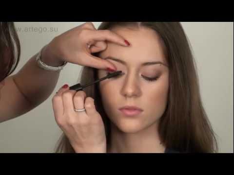 Как правильно красить ресницы. Уроки макияжа с Жанной.