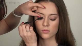 Как правильно красить ресницы. Уроки макияжа с Жанной.(Как правильно нанести тушь,что-бы сделать глаз зрительно больше и придать ему красивую форму. Рекомендации..., 2011-12-25T19:00:07.000Z)