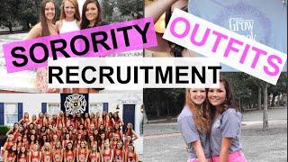 Sorority Recruitment Outfits | BiancaCelinexo♡