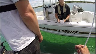 Grocery Store Fishing Challenge - COPS INVOLVED!!!!!! thumbnail