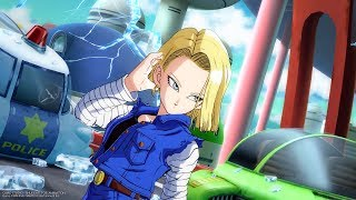 DBFZ - Android 18 Advanced Combos