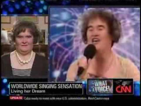 Susan Boyle and Larry King interview part 1
