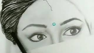 Sridevi sketch art 😥 RIP    . miss you. Most Beautiful actress in Bollywood -sridevi