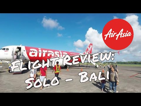 Air Asia Flight Review: Solo - Bali