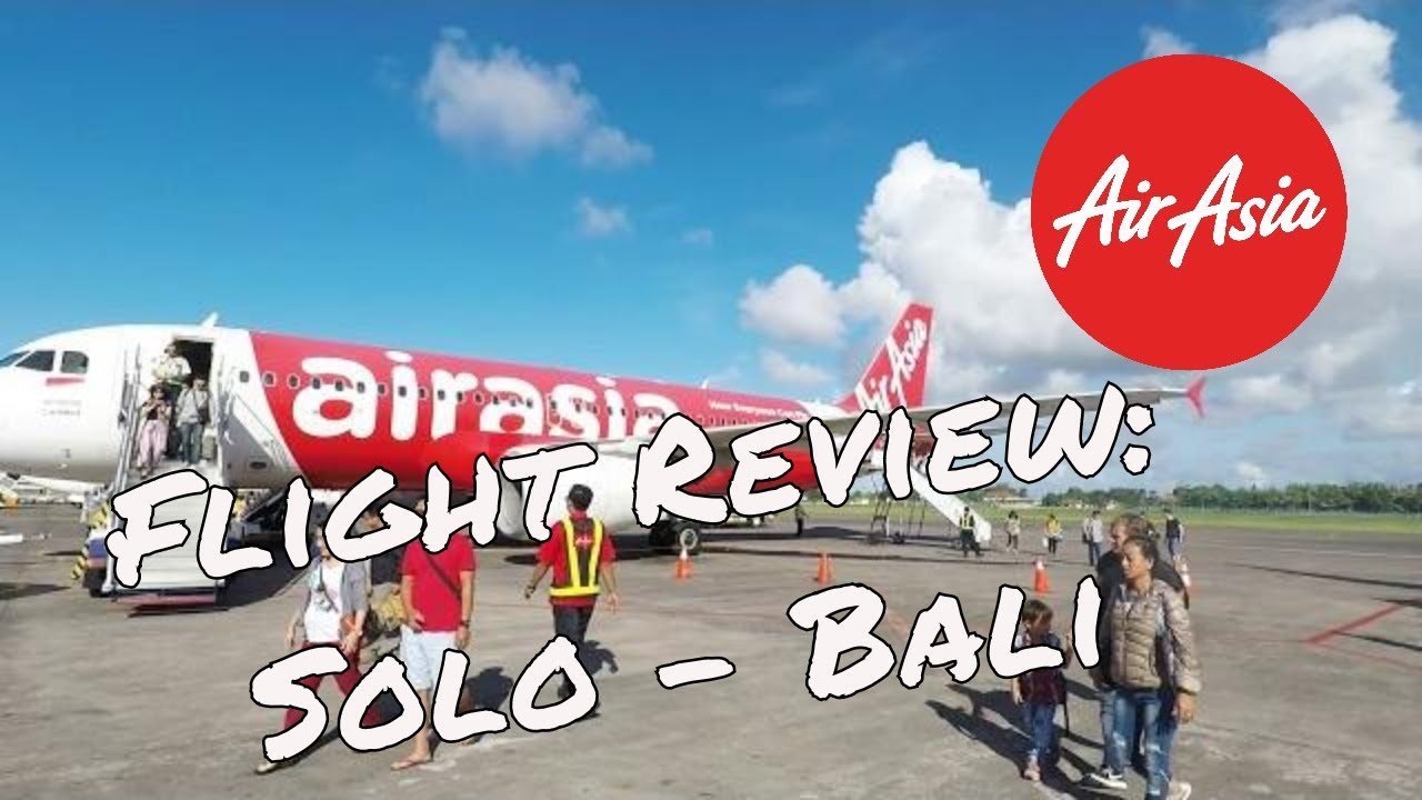 air asia flight review solo bali youtube rh youtube com