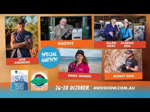 The Club Marine SA Boat And Fishing Show And 4WD And Adventure Show!