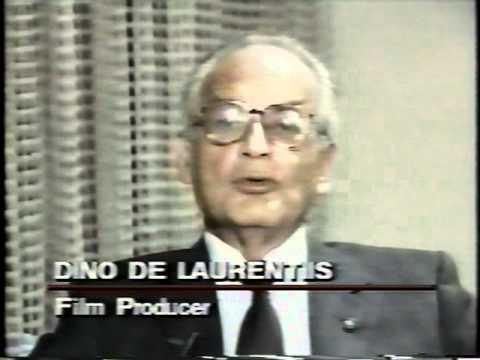 Dino De Laurentiis Canadian TV  ting Blue Velvet 1986