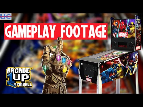 Arcade1up Marvel Pinball Gameplay Footage!! How Does It Look? from Unqualified Critics