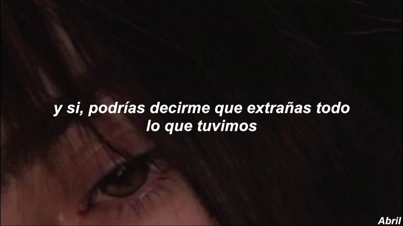 Tate McRae - you broke me first (Sub. Español) (Official audio)