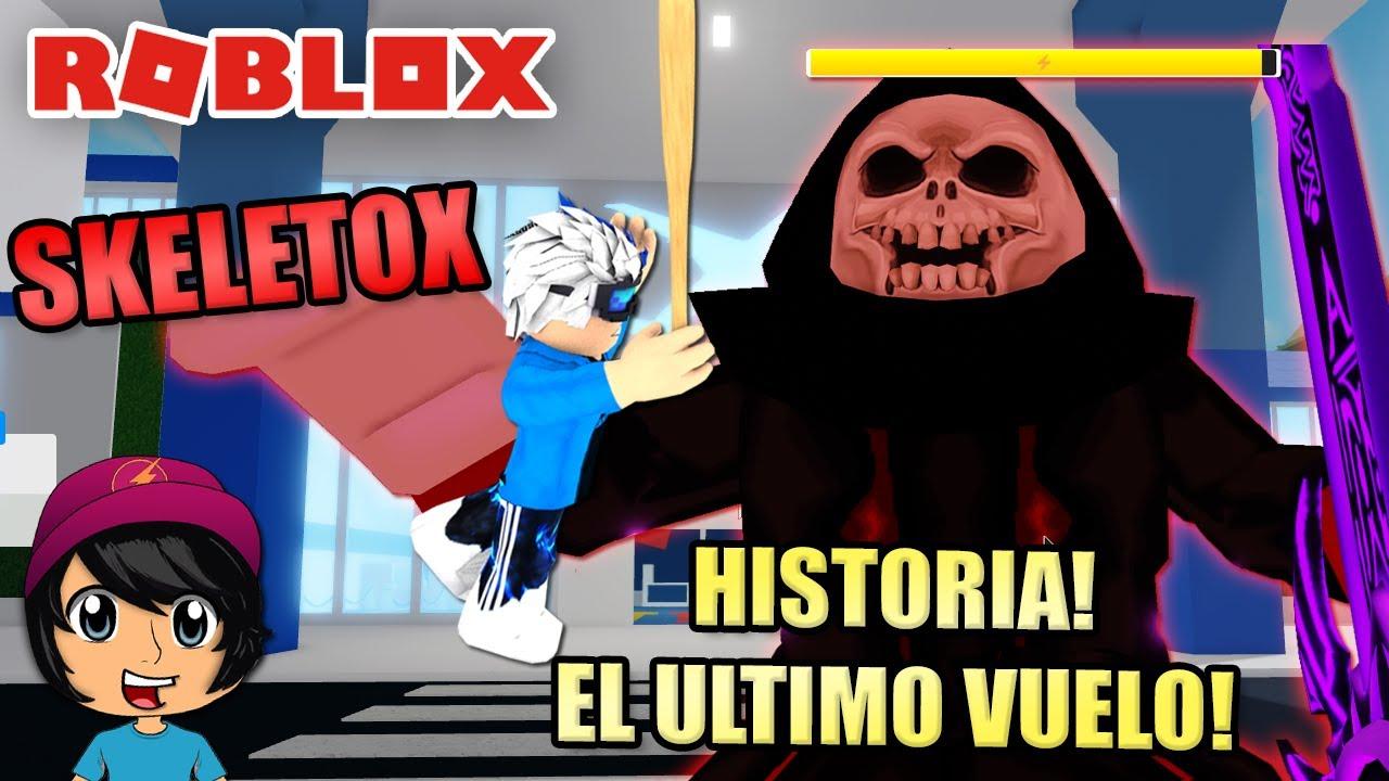 SALVAMOS LA CIUDAD! SKELETOX ES ENORME! | Soy Blue | Airplane4 Roblox Español