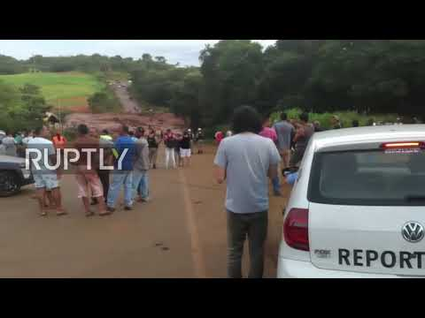 Brazil: At least 200 reportedly missing after mining dam collapse