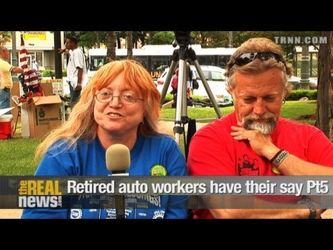 Retired auto workers have their say Pt.5