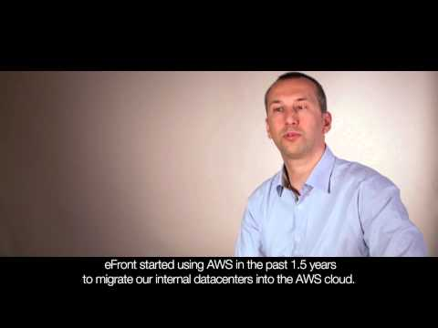 eFront uses AWS for Scalable, Cost-Efficient, Global Infrastructure