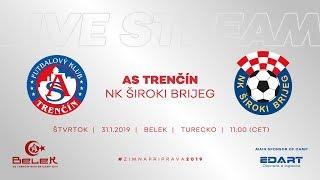 ASTV live: AS Trenčín - NK Široki Brijeg   Prípravný zápas - Belek