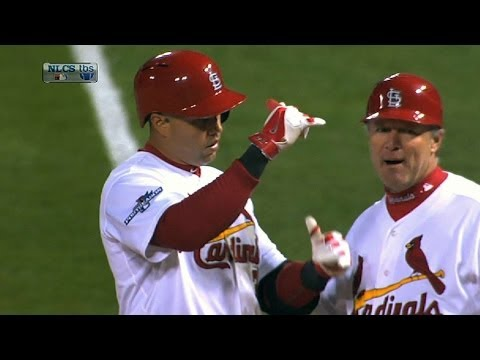 Beltran does it with bat and glove
