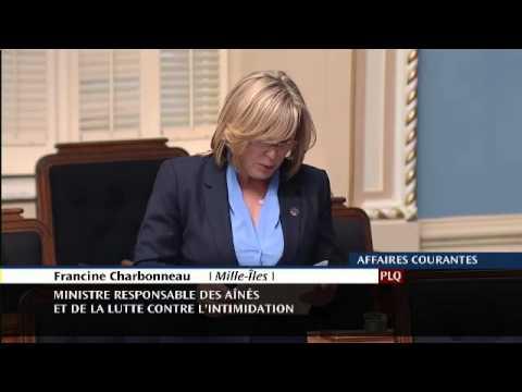 Déclaration de députée - Francine Charbonneau - 11e édition de la semaine des popotes roulantes