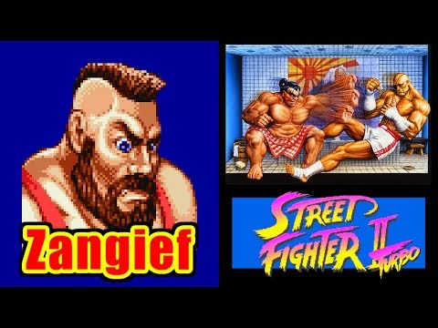 Zangief - STREET FIGHTER II Turbo for SFC/SNES