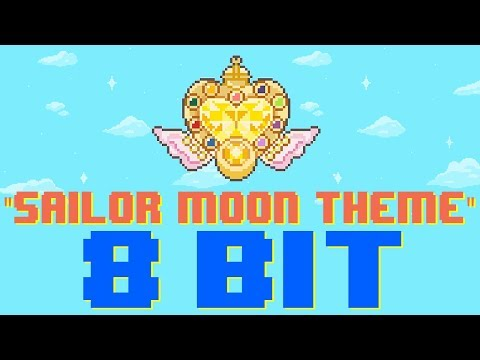 Sailor Moon Theme 8 Bit Tribute to Sailor Moon  8 Bit Universe