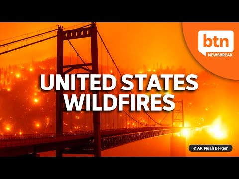 US West Coast Wildfires Update: California, Oregon, and Washington