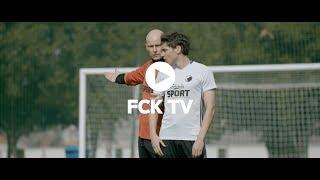 Robert Skovs første træningsdag som F.C. København-spiller