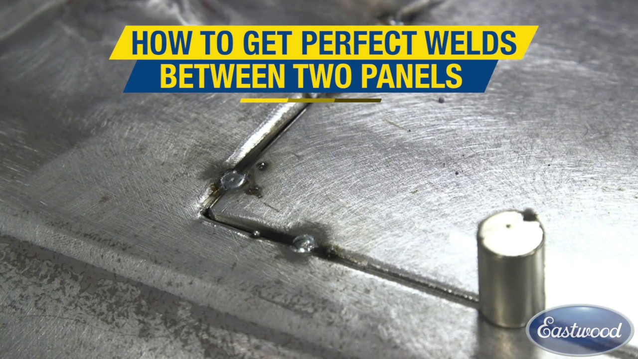 How To Get A Perfect Weld Between Two Panels Pneumatic