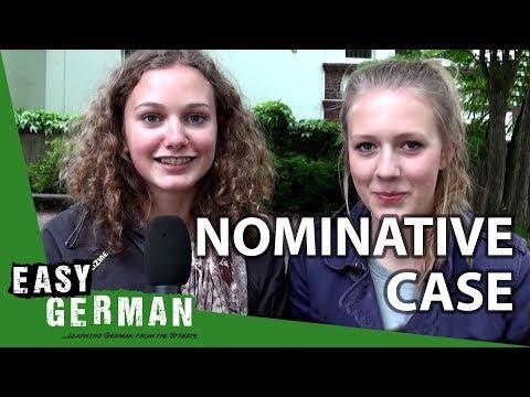Tiếng Đức bài 9: Cách sử dụng Nominativ