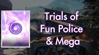 Trials with Fun Police and Mega | Raw Gameplay